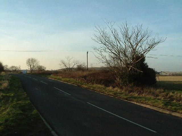 View West towards Baddesley Farm
