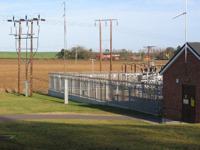 Kirkburn - Electricity Sub Station