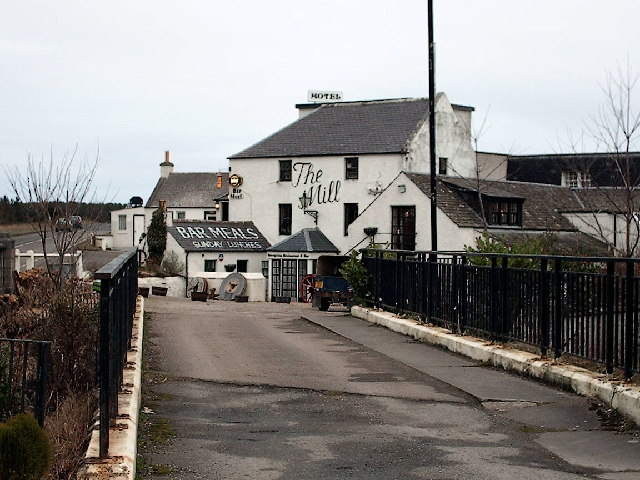 Mill House Hotel,Bridge of Tynet.