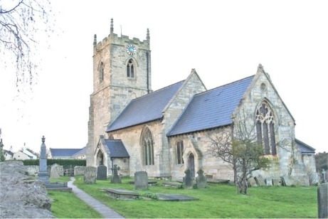 Kirk Smeaton Village, St Peters Church