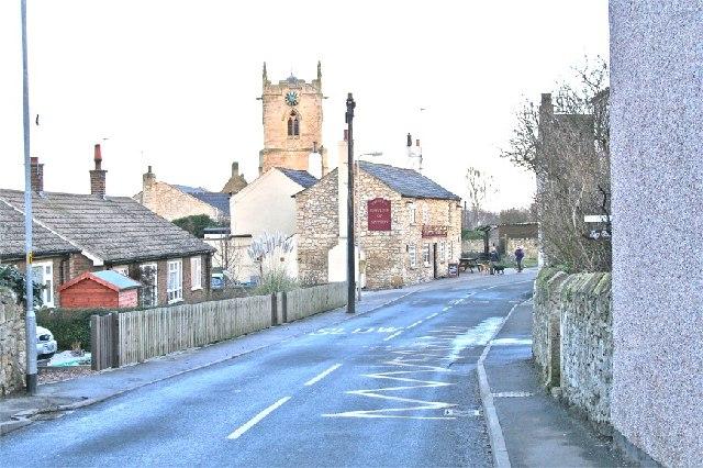 Kirk Smeaton Village, Pinfold Lane