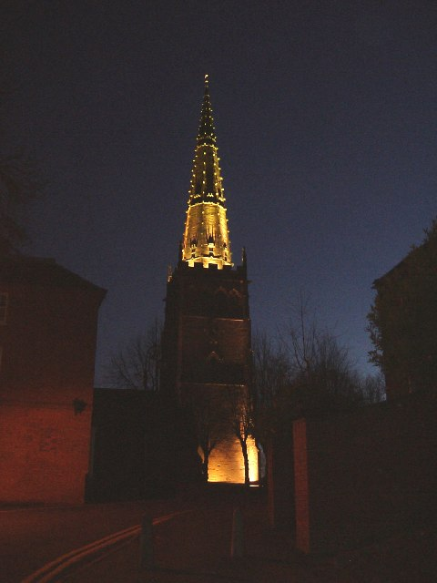 SS Peter & Paul, Coleshill - Floodlit
