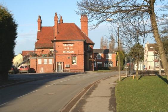 Pollington Village, George and Dragon