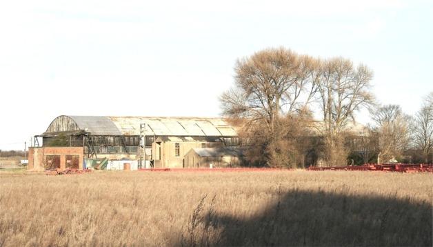 Pollington Airfield, WWII Hangar