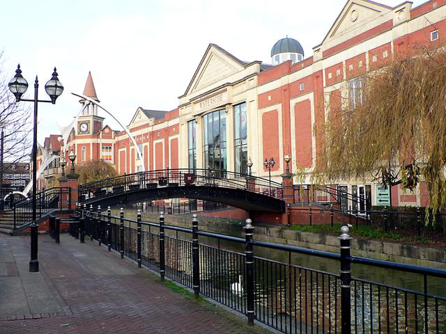 Footbridge at The Waterside