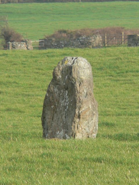 The Llanynghenedl Standing Stone, Anglesey.