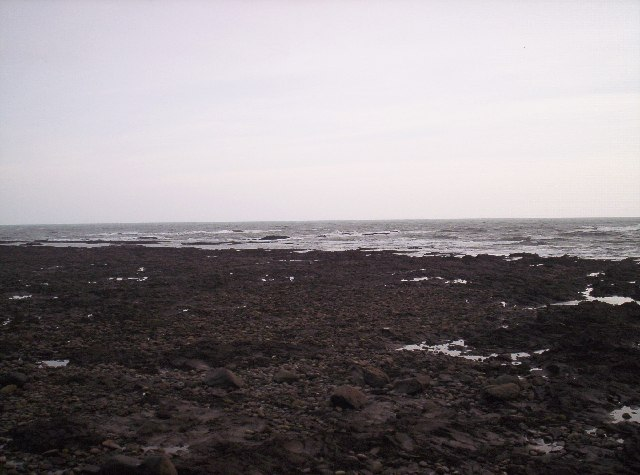 Rock Pools off Johnshaven