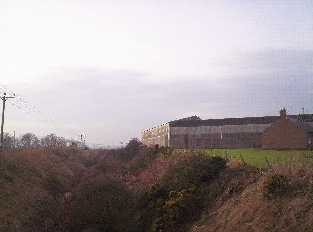 Gilrivie Farm and Disused Railway