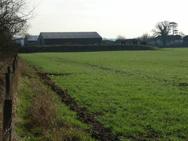 Old Dairy Farm near Winkfield