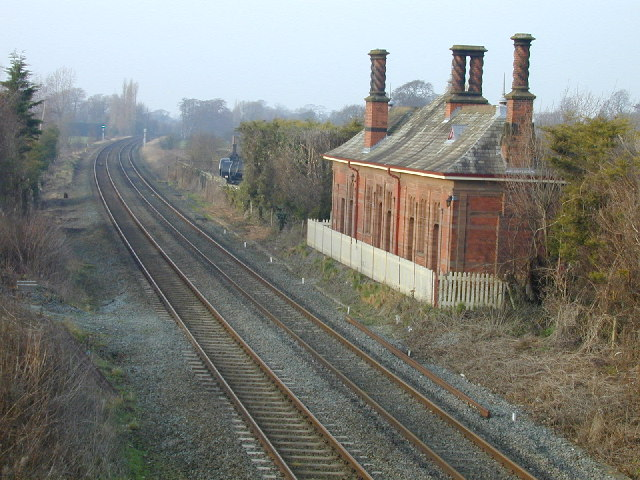 Waverton station building.