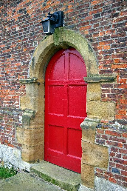 St. Andrew's, Bonby - Doorway