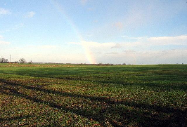 Fields near Silverhill