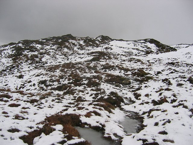 Southwest ridge, Meall na Dearcaig