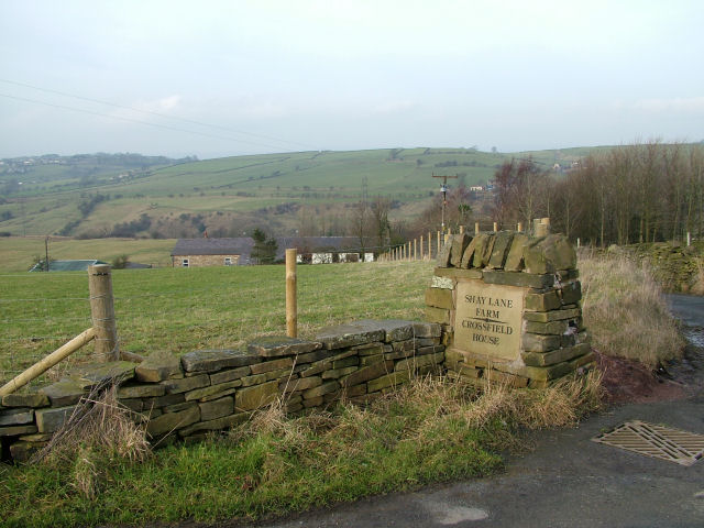 Sign at the end of Shay Lane