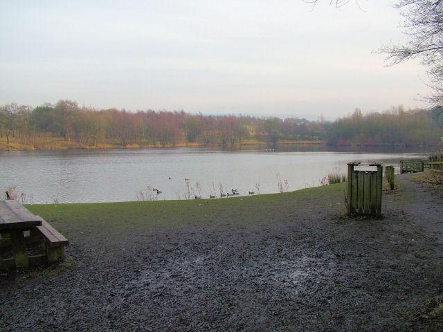 Lake next to Rowley Hall