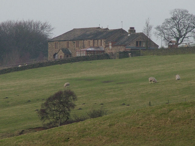 The Holme farm house