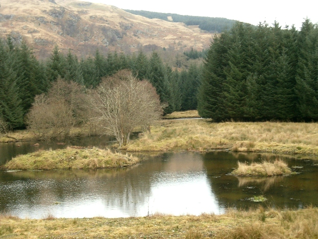 New ponds in Glen Aray