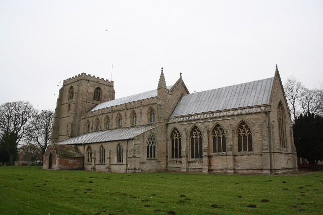 St.Mary's church, Old Leake, Lincs.
