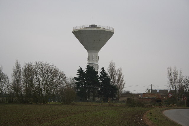 Water Tower at Old Leake