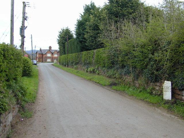 Barton Milepost
