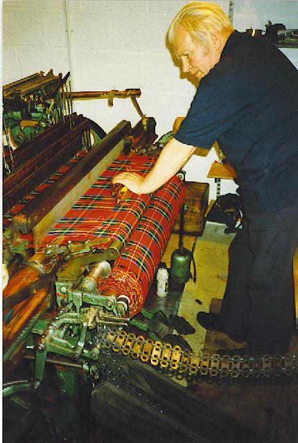 Weaver at work, Spean Bridge.