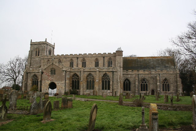 St.Mary & St.Nicholas' church, Wrangle, Lincs.