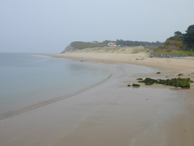 Eastern headland of Priory Bay