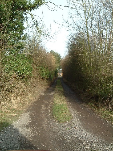 Track to cottage at Colliery Farm
