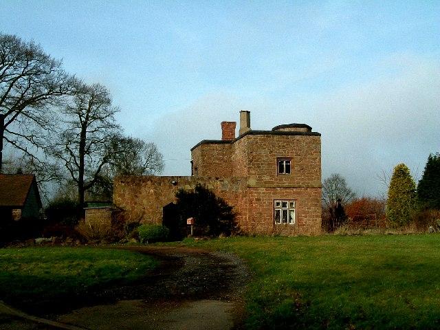 Unusual stone house, Baxterley