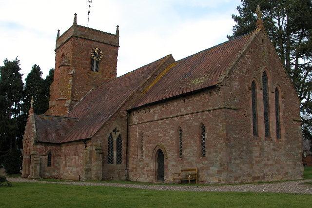 All Saints church, Shelsley Beauchamp