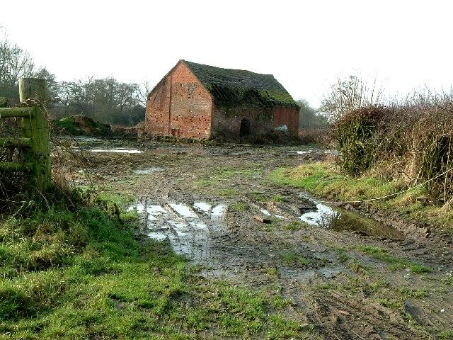 Abandoned building, Crawshaws