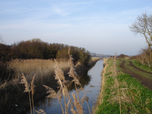 Royal Military Canal  Pett  Level  East Sussex