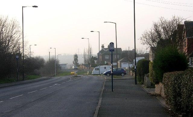 Swallownest - looking towards Beighton