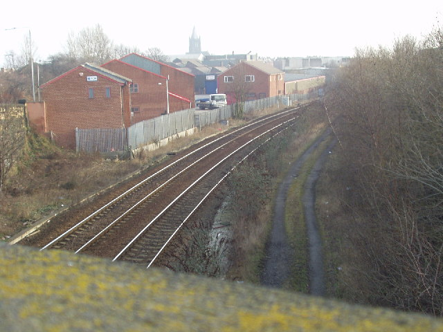 Site of Armley Moor Station, Leeds