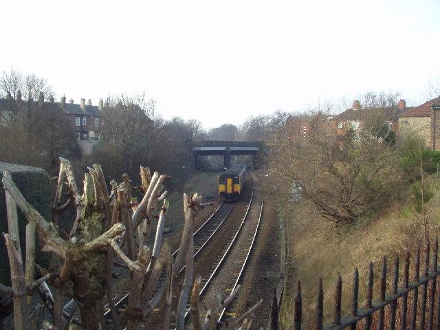 Leeds - Bradford railway line, Armley, Leeds