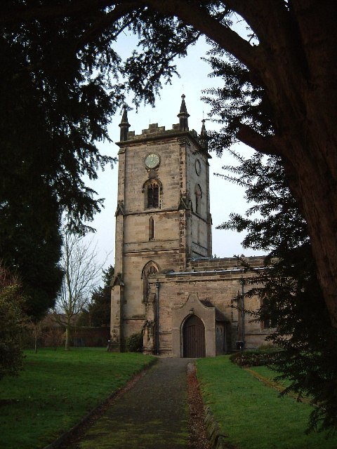 All Saints, Grendon - The Tower