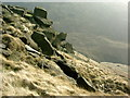 SK0795 : Rocks by Stephen Burton