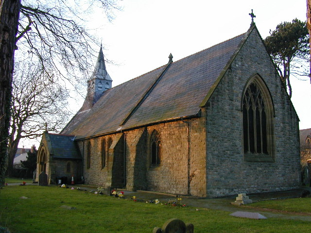 Holy Trinity Church, Gwernaffield.