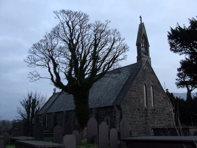 St Cedol church, Pentir