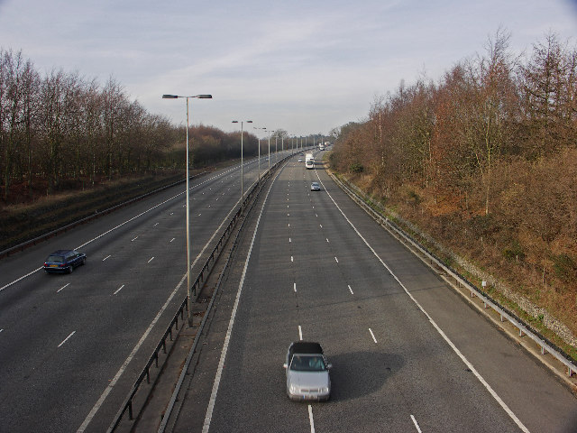 M40 Motorway near Cadmore End