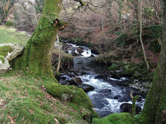 Stream above Gerlan
