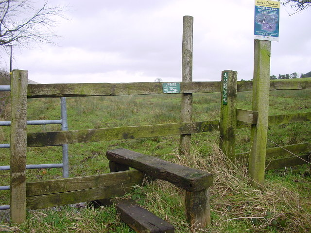 Stile and Footpath North Nook Beacon Fell