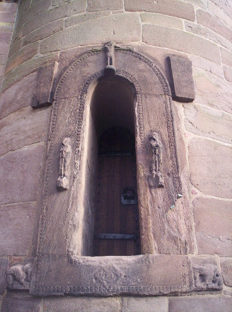 Door to Brechin Round Tower