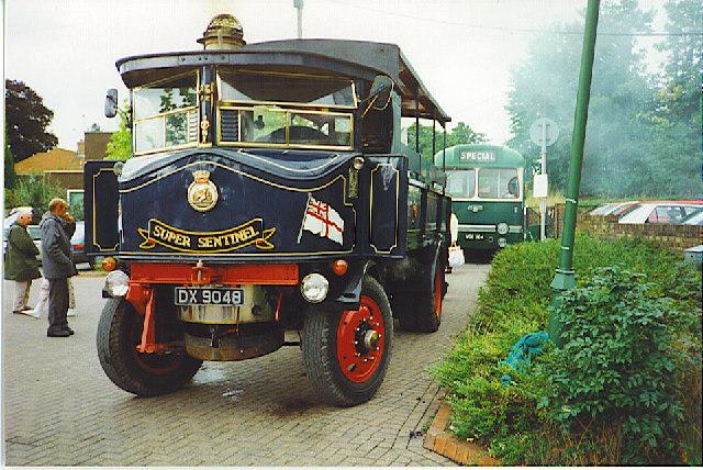 D-Day 50 Outside Alresford Station.