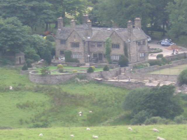 Bents House, south of Strines Reservoir