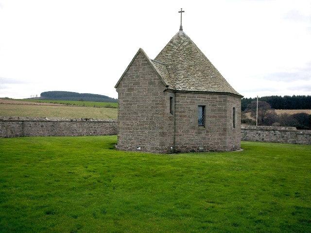 Chapel, St Ninian's Cemetery, Tynet