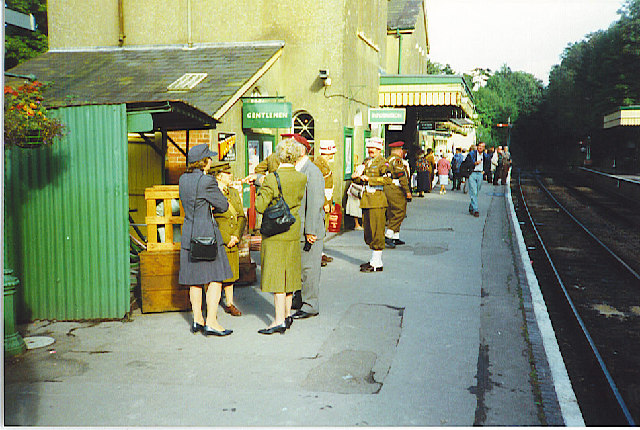 D-Day 50 at New Alresford Station.