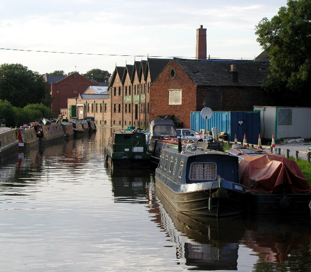 The Trent and Mersey Canal at Stone