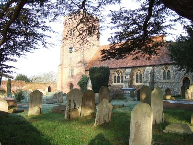 Graveyard at St Mary's Church
