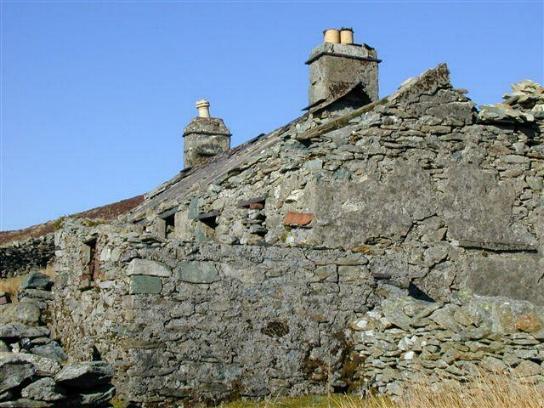Ruins at Dinorwig